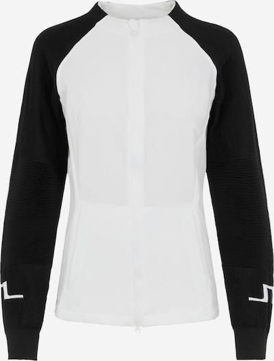 J.Lindeberg Vestes d'entraînement 'May' en noir / blanc, Vue avec produit