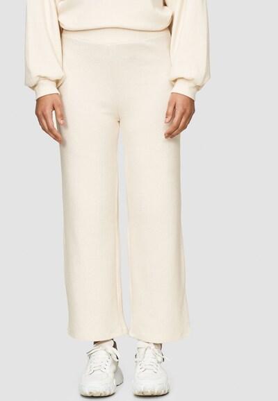 Cotton Candy Sweathose 'NILA' in beige, Modelansicht