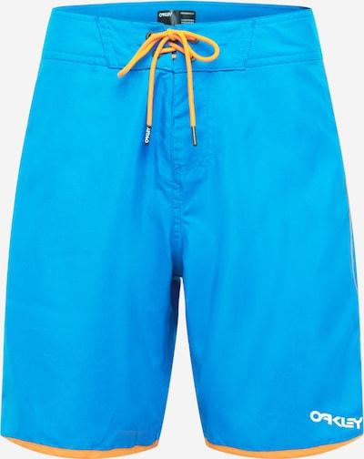 OAKLEY Bermudas en azul neon / naranja, Vista del producto