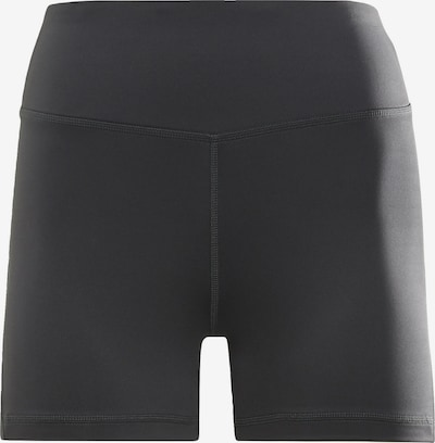 Pantaloni sport Reebok Sport pe negru / alb, Vizualizare produs