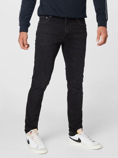 JACK & JONES Jeans 'JJIGLENN' in black denim, Modelansicht