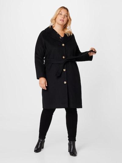 SELECTED FEMME Between-Seasons Coat in Black, View model