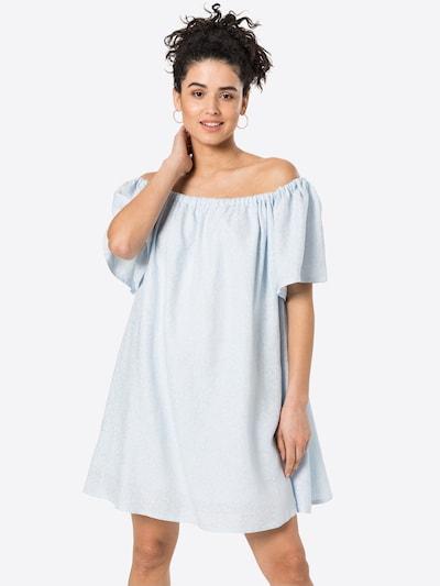 KAN Kleid 'RAIN' in hellblau / weiß, Modelansicht