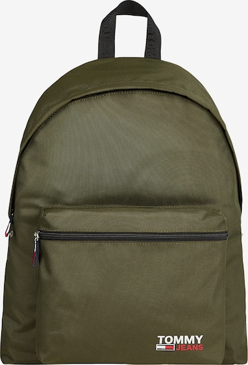 Tommy Jeans Batoh - olivová / červená / biela, Produkt