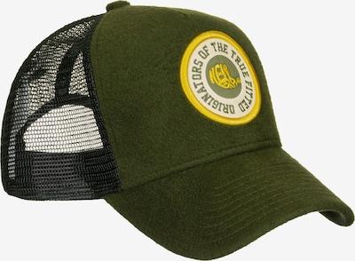 NEW ERA Cap ' Wool Patch Trucker ' in grün, Produktansicht