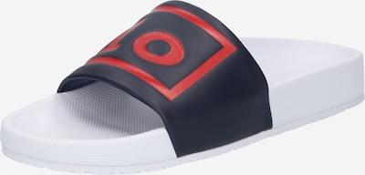 POLO RALPH LAUREN Zapatos abiertos 'CAYSON' en navy / rojo / blanco, Vista del producto