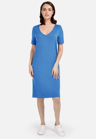 HELMIDGE Sheath Dress in Blue