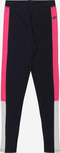 4F Urheiluhousut värissä laivastonsininen / harmaa / vaaleanpunainen, Tuotenäkymä