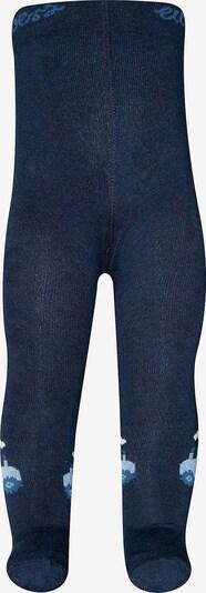 EWERS Strickstrumpfhose in hellblau / dunkelblau, Produktansicht