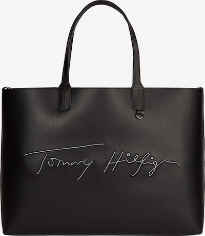 TOMMY HILFIGER Shopper in red / black / white, Item view