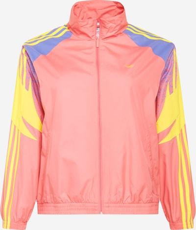 ADIDAS ORIGINALS Prechodná bunda - modrá / žltá / ružová, Produkt