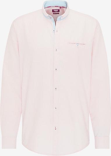 PIONEER Hemd in hellblau / pastellorange, Produktansicht