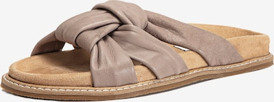 INUOVO Pantolette in greige, Produktansicht