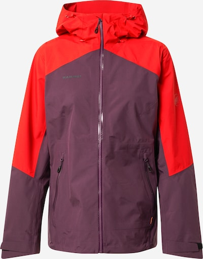 MAMMUT Outdoor Jacket 'Convey Tour' in Red / Bordeaux, Item view