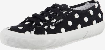 SUPERGA Sneaker' Cotfantasydotsw ' in schwarz / weiß, Produktansicht