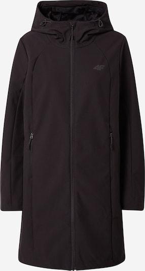 4F Outdoormantel in schwarz, Produktansicht