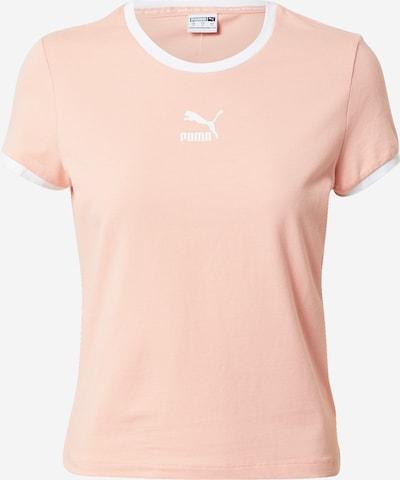 Tricou PUMA pe roz / alb, Vizualizare produs