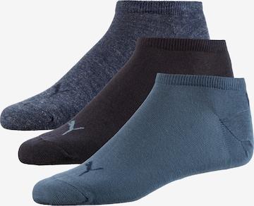 PUMA Enkelsokken in Blauw