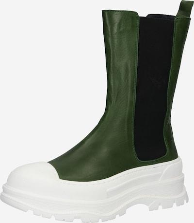Bianco Chelsea čižmy - olivová / čierna / biela, Produkt