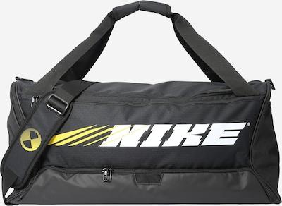 NIKE Sportovní taška 'Brasilia' - žlutá / černá / bílá, Produkt