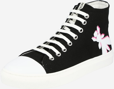 Sportbačiai su auliuku iš PATRIZIA PEPE , spalva - rožinė / juoda / balta, Prekių apžvalga