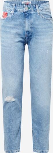 Tommy Jeans Jeans en hellblau / rot / weiß, Vue avec produit