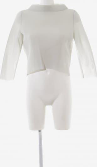 Anja Gockel Netzshirt in S in weiß, Produktansicht