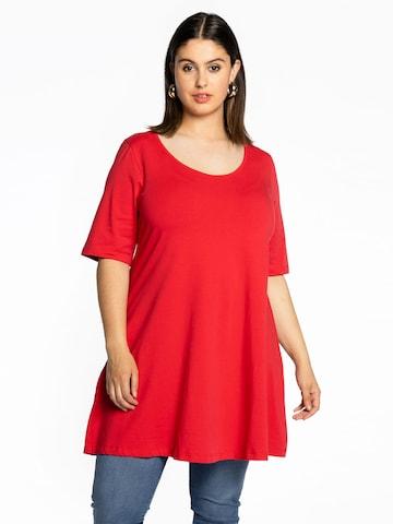 Yoek Tunic in Red