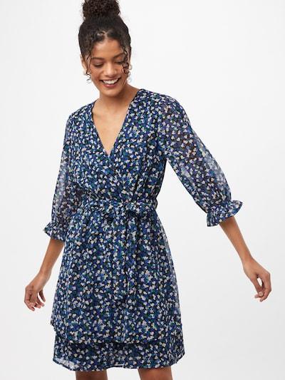 NEW LOOK Kleid in türkis / nachtblau / dunkelblau / grün / weiß, Modelansicht
