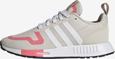 ADIDAS ORIGINALS Sneaker 'Multix' in taupe / pastellrot / weiß, Produktansicht