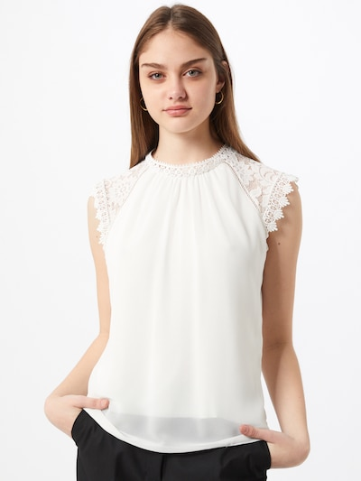 Hailys Bluza 'Marlene'   pegasto bela barva, Prikaz modela