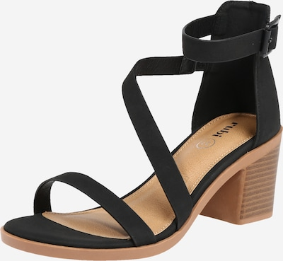 rubi Strap sandal 'Harmony' in Black, Item view
