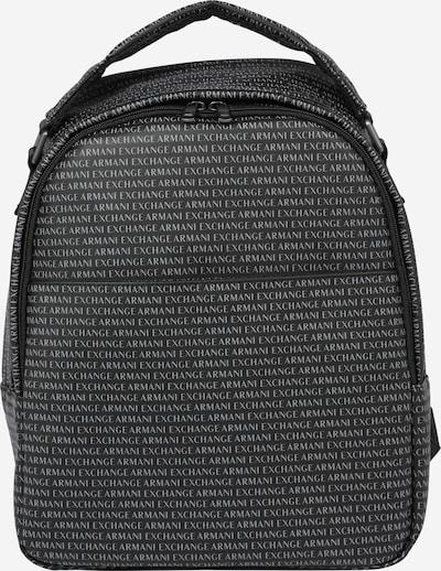 ARMANI EXCHANGE Plecak w kolorze czarny / białym, Podgląd produktu