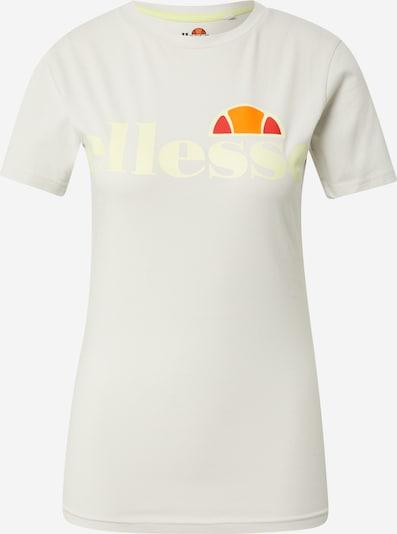 Sportiniai marškinėliai 'Annifo' iš ELLESSE, spalva – geltona / šviesiai pilka / oranžinė / raudona, Prekių apžvalga