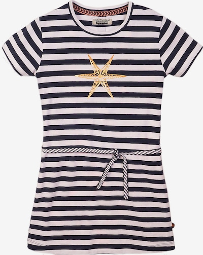 DJ DUTCHJEANS Dress in Navy / yellow gold / White, Item view
