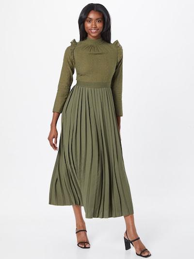 Rochie tip bluză Little Mistress pe kaki, Vizualizare model