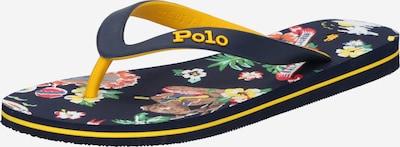 POLO RALPH LAUREN Žabky 'BOLT' - námornícka modrá / žltá, Produkt