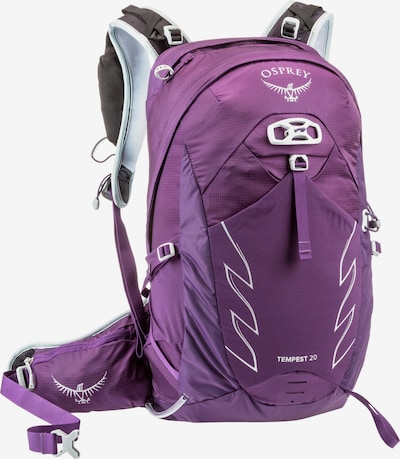Osprey Sports Backpack 'Tempest 20' in Purple / White, Item view