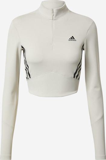 ADIDAS PERFORMANCE T-shirt fonctionnel en gris clair / noir, Vue avec produit