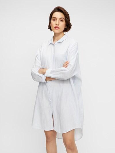 Y.A.S Kleid 'Famira' in hellblau / weiß, Modelansicht
