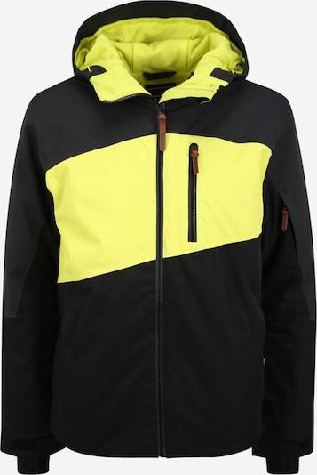 ICEPEAK Outdoorová bunda 'CANDOR' - tmavě šedá / kiwi / černá, Produkt
