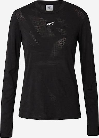 Reebok Sport Camiseta funcional 'Burnout' en gris oscuro / negro / blanco, Vista del producto