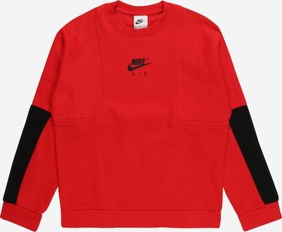 Nike Sportswear Sportisks džemperis, krāsa - sarkans / melns, Preces skats