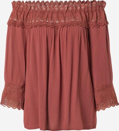 Bluză 'Bea' Cream pe roșu pastel, Vizualizare produs