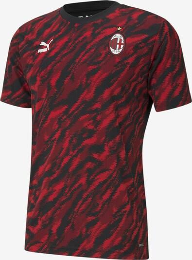 PUMA T-Shirt 'Acm' in rot / schwarz / weiß, Produktansicht