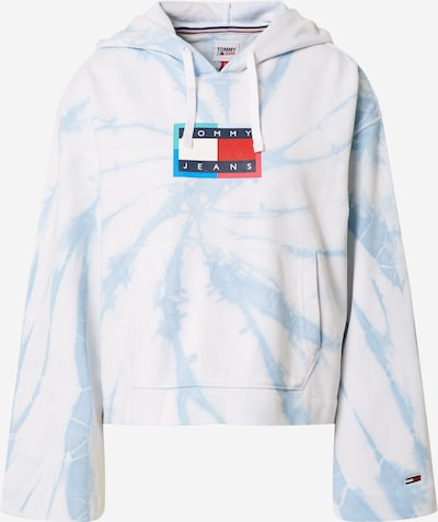 Tommy Jeans Sweatshirt in Navy / Light blue / Jade / Red / White, Item view