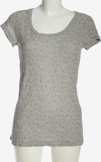 Tandem T-Shirt in M in hellgrau / wollweiß, Produktansicht