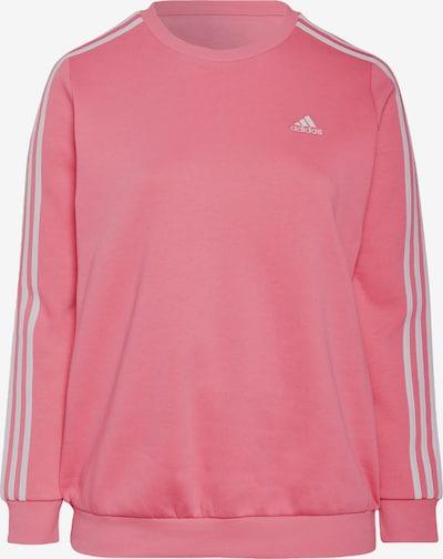 Sportinio tipo megztinis iš ADIDAS PERFORMANCE, spalva – rožinė / balta, Prekių apžvalga