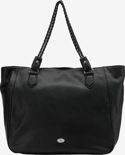 DreiMaster Klassik Shopper in schwarz, Produktansicht