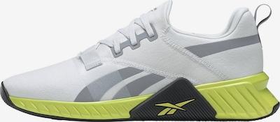 Reebok Sport Sport-Schuh 'FLASHFILM TRAIN 2.0' in silbergrau / neongrün / weiß, Produktansicht